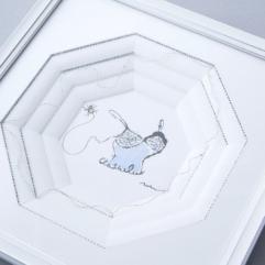 アトリエミラボーのアンカードルモン(フランス額装)