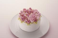 ミニローズのケーキ
