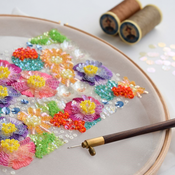 オートクチュール刺繍の世界